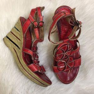 Elite by Corkys Ocean Red Women's Shoe 9